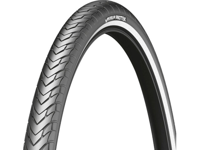 "Michelin Protek Bike Tire 26"", wire bead black"